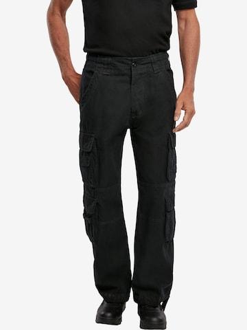 Brandit Hose in Schwarz