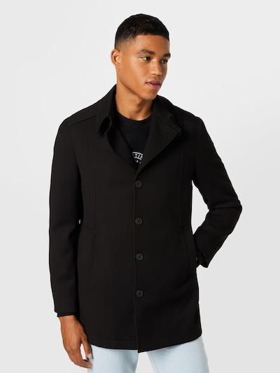 Demisezoninis paltas 'DRAPER' iš SELECTED HOMME, spalva – juoda, Modelio vaizdas
