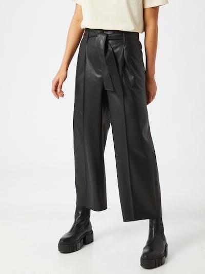 Someday Veckad byxa 'Candidani' i svart, På modell