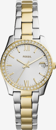 Ceas analogic FOSSIL pe galben auriu / argintiu, Vizualizare produs