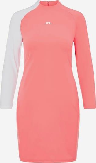 J.Lindeberg Sportjurk in de kleur Pink / Wit, Productweergave