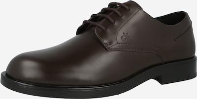 Calvin Klein Šnurovacie topánky - tmavohnedá, Produkt
