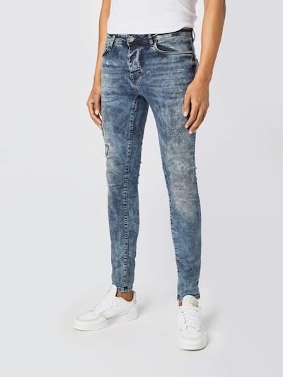 Cars Jeans Jeans 'ARON' in de kleur Blauw denim, Modelweergave