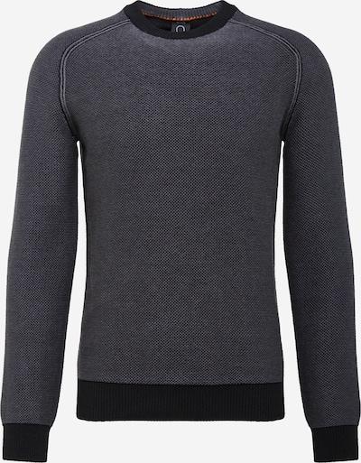 BOSS Trui 'Akstumi' in de kleur Grijs / Zwart, Productweergave
