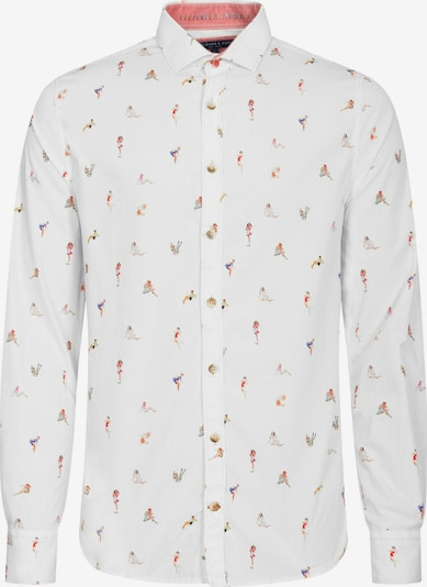 COLOURS & SONS Langarmhemd Patrick in weiß, Produktansicht