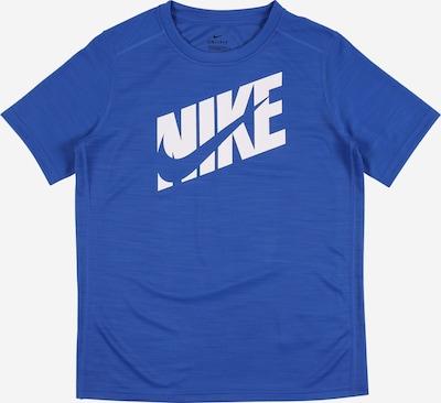 NIKE Shirt in blau / weiß, Produktansicht