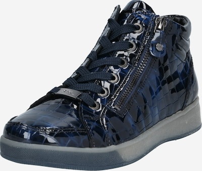 ARA Baskets hautes 'Rom' en bleu marine / bleu nuit, Vue avec produit