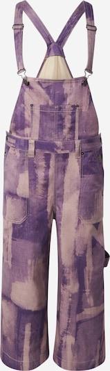 DIESEL Jumpsuit 'BIBI' in Beige / Dark purple, Item view