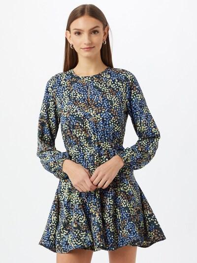 JDY Kleid in blau / mischfarben, Modelansicht