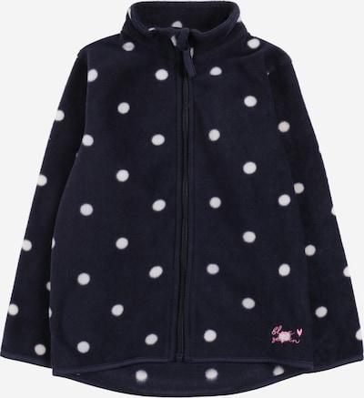 BLUE SEVEN Fleece jas in de kleur Navy / Wit, Productweergave