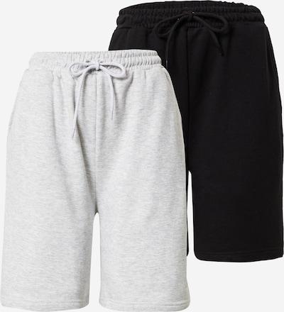 Missguided Παντελόνι σε γκρι μελανζέ / μαύρο, Άποψη προϊόντος