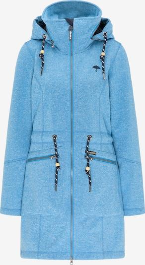 Schmuddelwedda Functionele mantel in de kleur Navy / Hemelsblauw, Productweergave