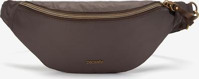 Pacsafe Stylesafe Gürteltasche RFID 34 cm in braun, Produktansicht