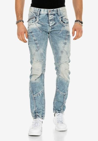 CIPO & BAXX Jeans 'Rugged' in blau, Modelansicht