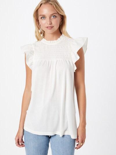 VERO MODA Bluza 'EMMA' u bijela, Prikaz modela