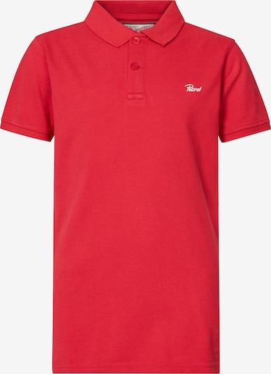 Petrol Industries T-Shirt en melon / blanc, Vue avec produit
