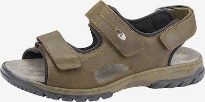 WALDLÄUFER Sandale 'Harald' in khaki, Produktansicht