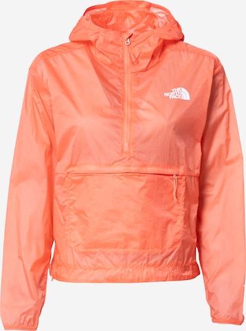THE NORTH FACE Športová bunda - oranžová