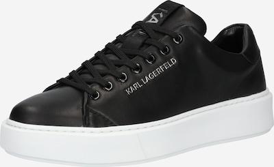 Karl Lagerfeld Baskets basses 'Maxi Kup' en noir, Vue avec produit
