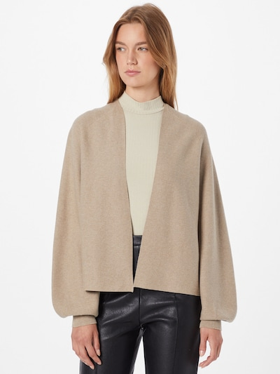 DRYKORN Strickjacke 'MANUI' in beige, Modelansicht