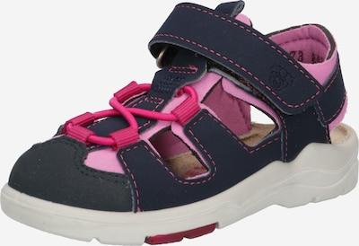 RICOSTA Otvorene cipele u plava / roza, Pregled proizvoda