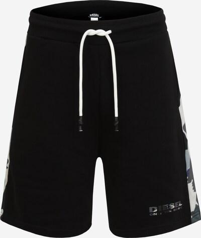 DIESEL Broek in de kleur Grijs / Zwart / Wit, Productweergave