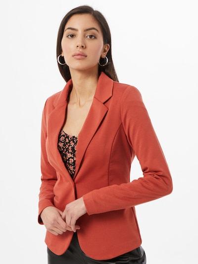 ICHI Blazer in rostrot, Modelansicht