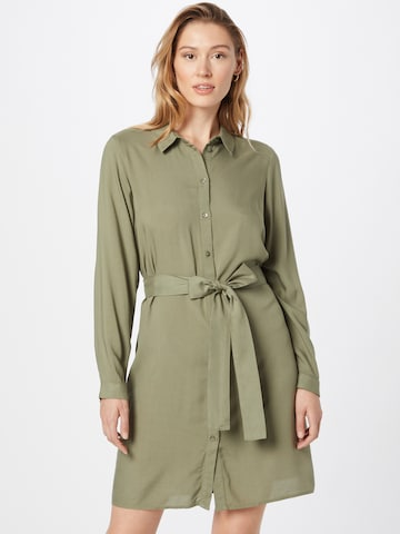 PIECES Shirt Dress 'CAMMIE' in Green
