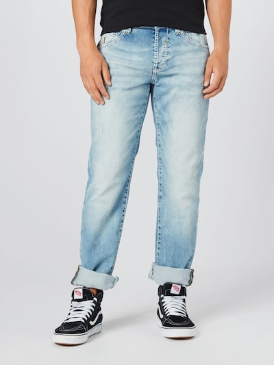 CAMP DAVID Jeans in blue denim, Modelansicht