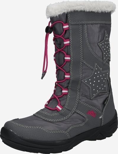 LICO Stiefel 'Cathrin' in grau / pink, Produktansicht