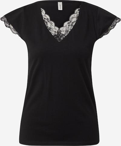 Tricou Soyaconcept pe negru, Vizualizare produs