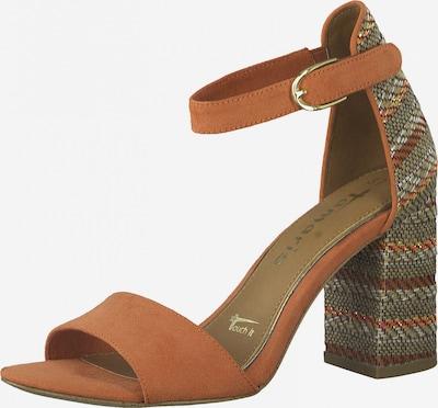 TAMARIS Sandale in mischfarben / koralle, Produktansicht