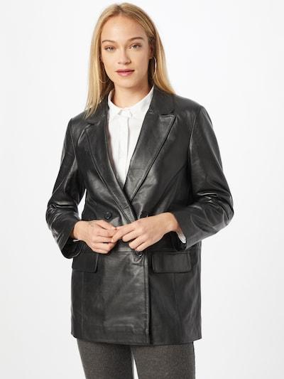 Švarkas 'Brenda' iš Deadwood, spalva – juoda, Modelio vaizdas