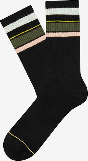 Cheerio Socken in schwarz, Produktansicht