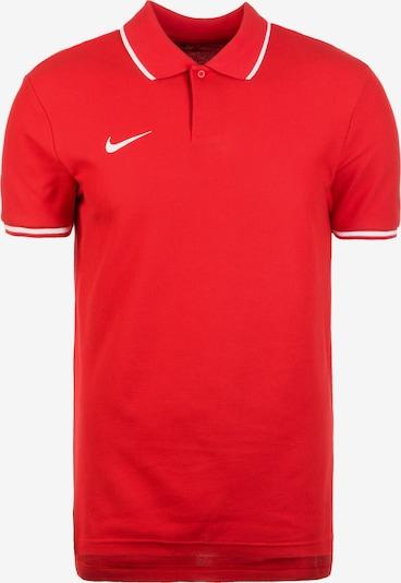 NIKE Poloshirt 'Club 19' in rot / weiß, Produktansicht