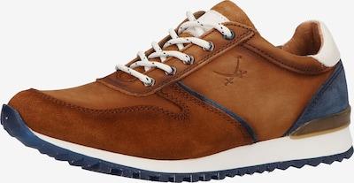 SANSIBAR Sneaker in blau / braun / weiß, Produktansicht