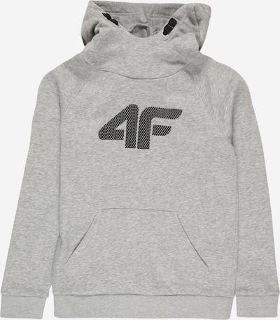 4F Sportsweatshirt in anthrazit / hellgrau, Produktansicht