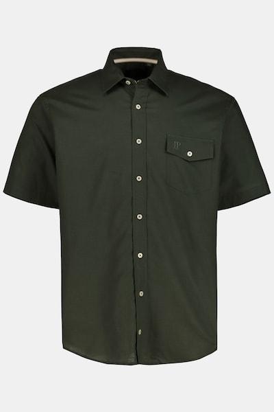 JP1880 JP 1880 Herren große Größen Leinenhemd 726818 in khaki, Produktansicht