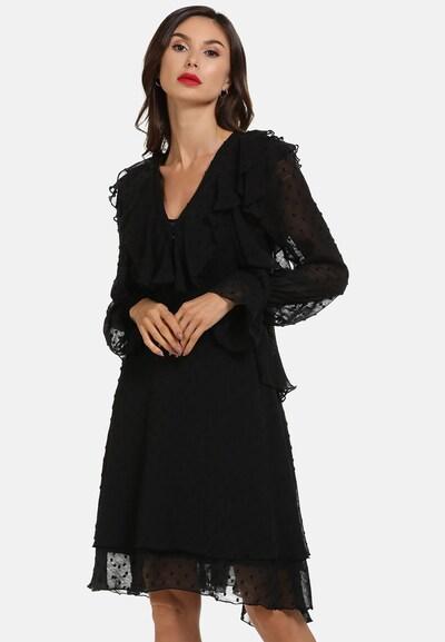 faina Kleid in schwarz, Modelansicht