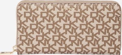 DKNY Geldbörse 'BRYANT' in braun / cappuccino, Produktansicht
