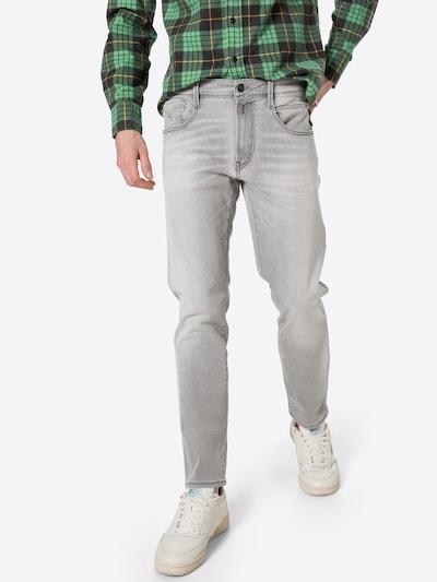 REPLAY Jeans 'ANBASS' in hellgrau, Modelansicht