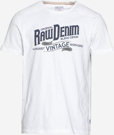 BLEND Majica u tamno plava / bijela, Pregled proizvoda