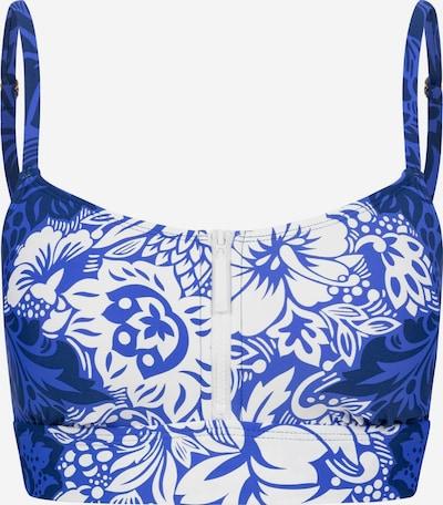 Lauren Ralph Lauren Bikinitop ' Ots ' in indigo / weiß, Produktansicht