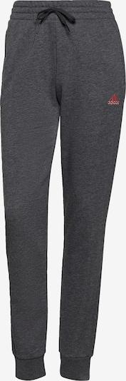 ADIDAS PERFORMANCE Workout Pants in Dark grey / Pink, Item view