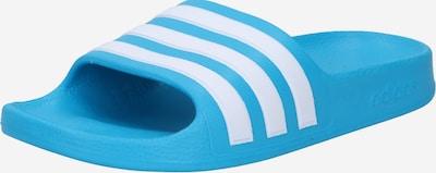 ADIDAS PERFORMANCE Sportschuh 'ADILETTE' in aqua / weiß, Produktansicht