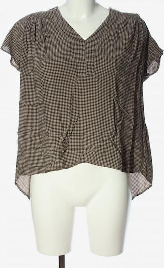 Manila Grace Hemd-Bluse in XL in braun / schwarz, Produktansicht