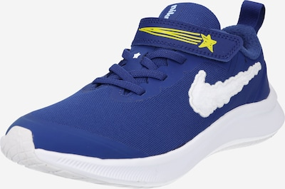 NIKE Sportschuh in royalblau / gelb / weiß, Produktansicht