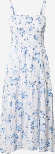 HOLLISTER Лятна рокла в синьо / бяло, Преглед на продукта