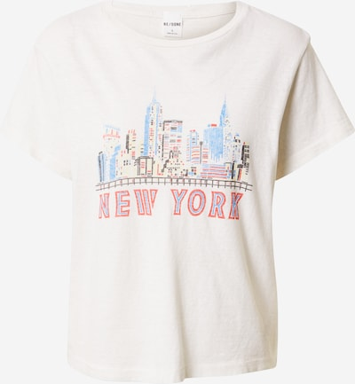 RE/DONE Shirt 'NY SKYLINE' in Mixed colors / White, Item view