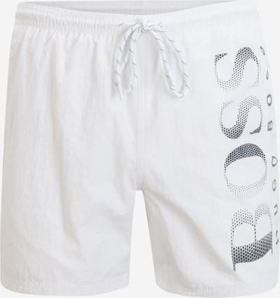 BOSS Casual Plavecké šortky 'Octopus' - antracitová / bílá, Produkt